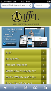 Iffel is the leading Mobile Website Designer