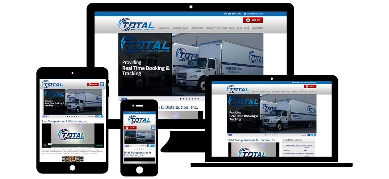 Total Transportation and Distribution, CA