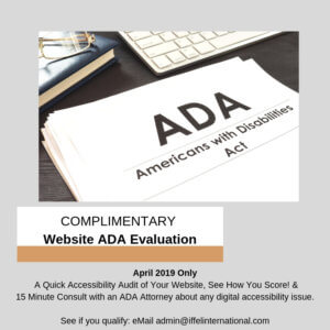 ADA Website Compliance – Are you at risk?